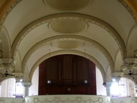 Vaulted Ceilling at St. Elizabeth's